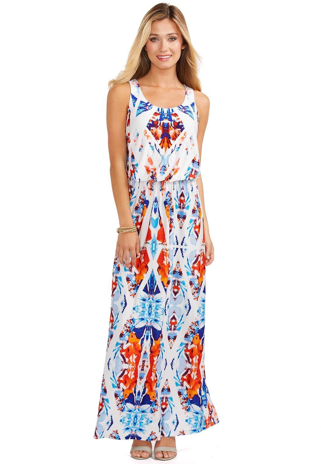 a0aeb9bd167c Kaleidoscope Maxi Dress Dresses Cato Fashions | Lovely Prints ...