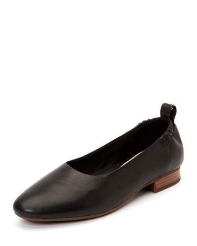 9643cc69ee Bess Leather Ballet Flats with Contoured Arch Support in 2018 ...