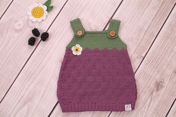 Baby Dress Knit Dress Blackberry Diy Strickmodelle Pinterest