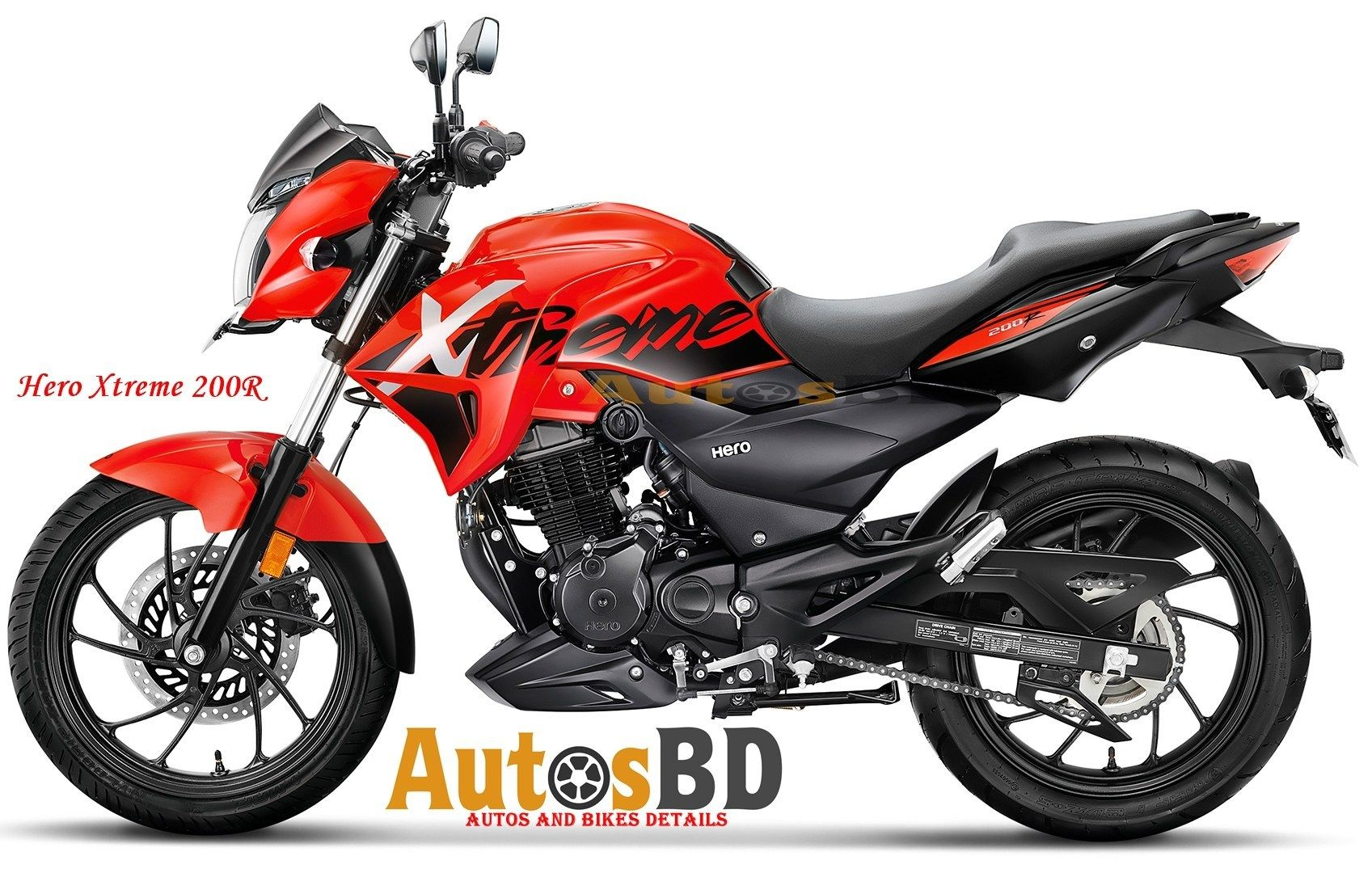 Hero Xtreme 200r Specification Bike Design Tyre Size Engine Types