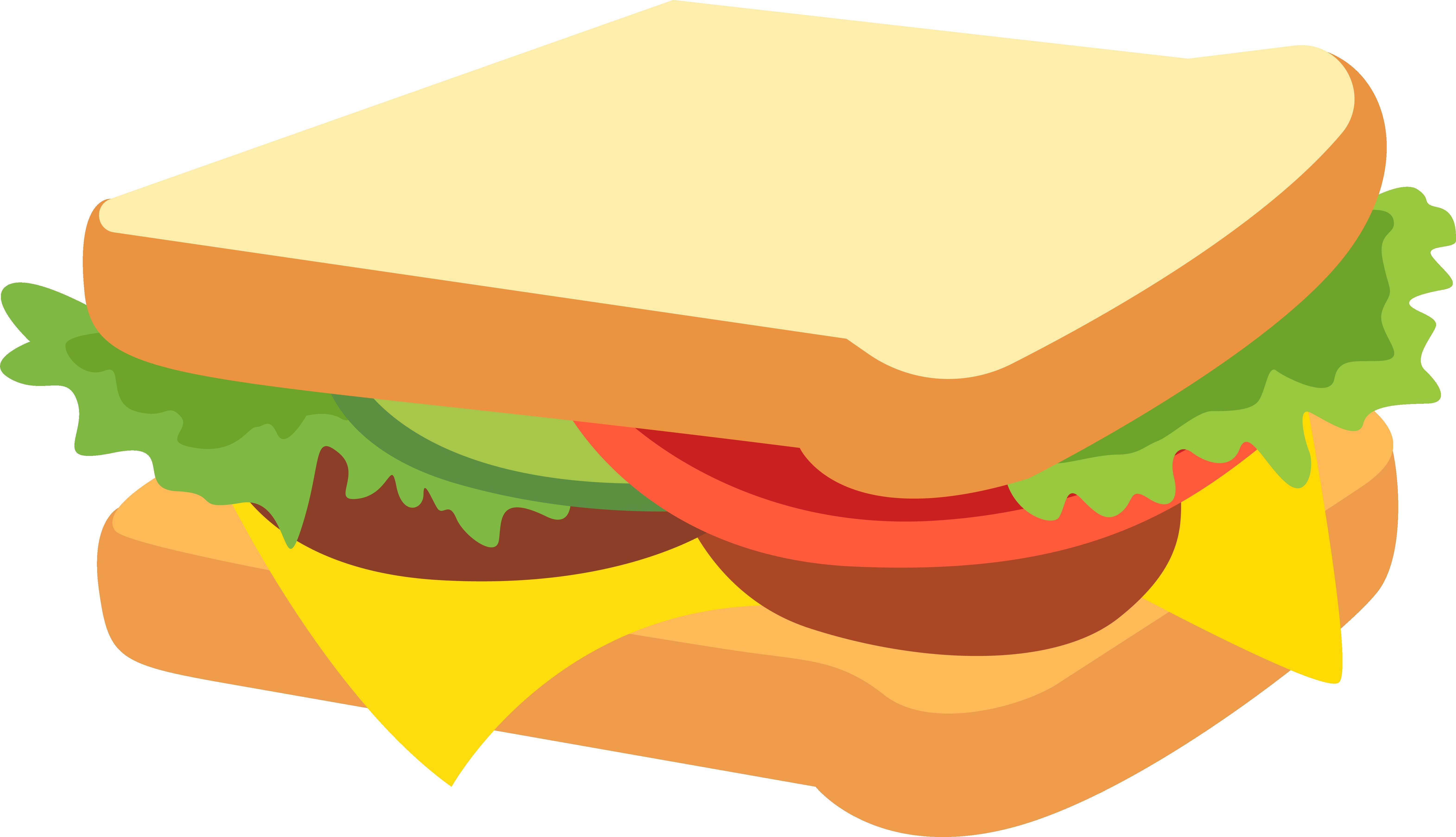 Sandwich Vector Transparent Background Illustration Feelings Activities