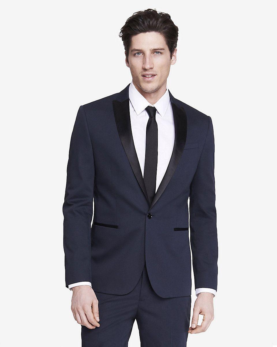 98cdf61fcab slim photographer color block tuxedo jacket Pánské Obleky