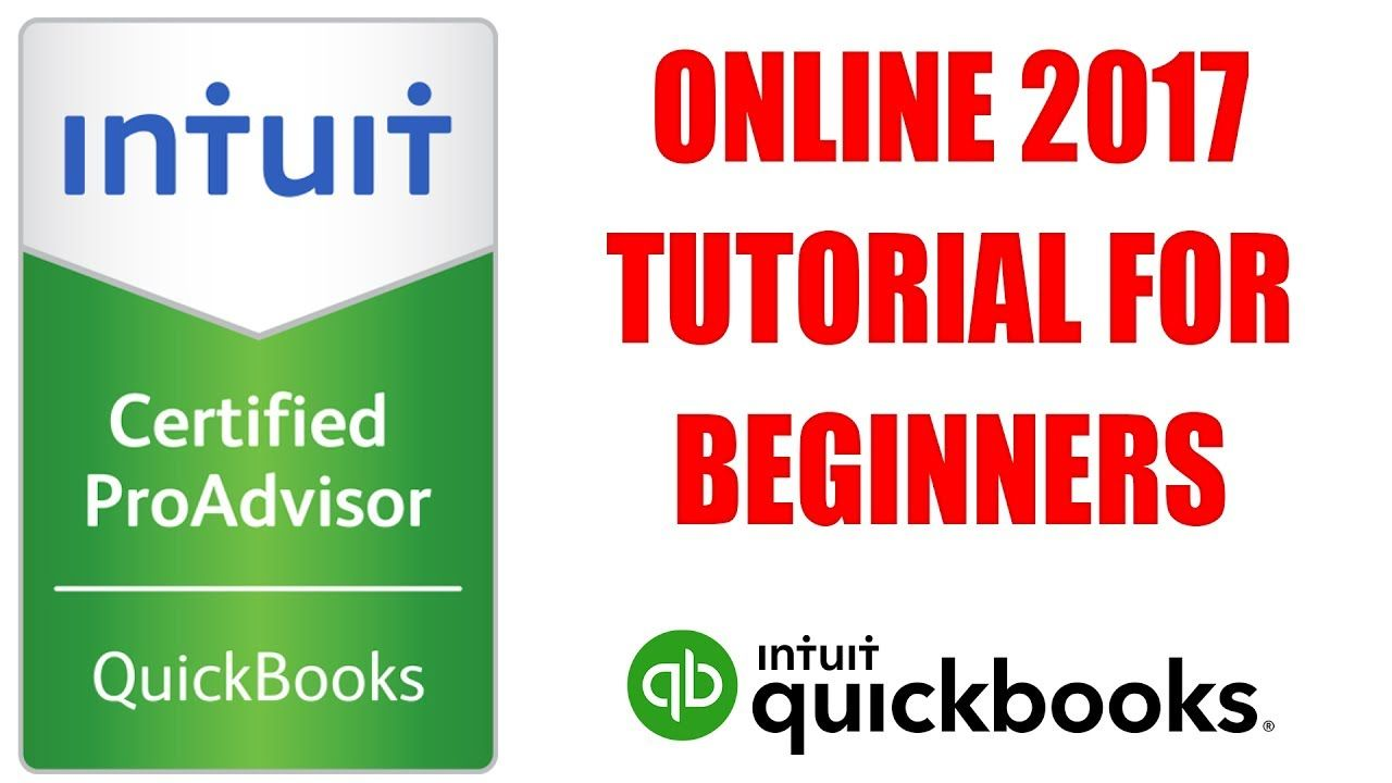 QuickBooks Online 2017 Tutorial For Beginners by Certified