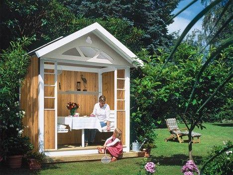Gartenlaube selber bauen Gartenhaus selber bauen