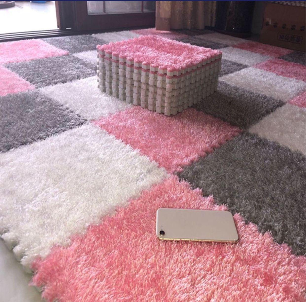 Premium Carpet Puzzle Style Puzzle Mat Diy Rug Interlocking Carpet Tile