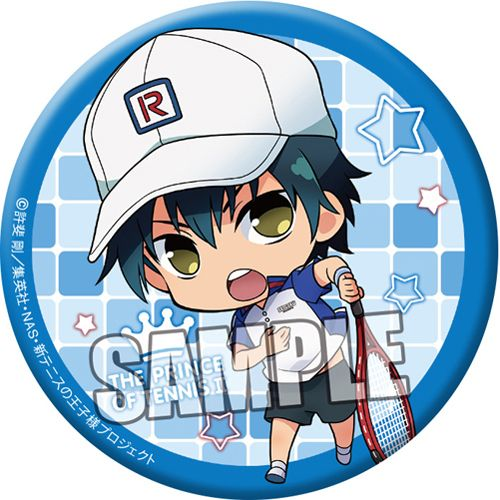 New Prince Of Tennis Can Badge Ryoma Echizen Chibi Character Ver Collectible Chibi Characters Chibi Echizen