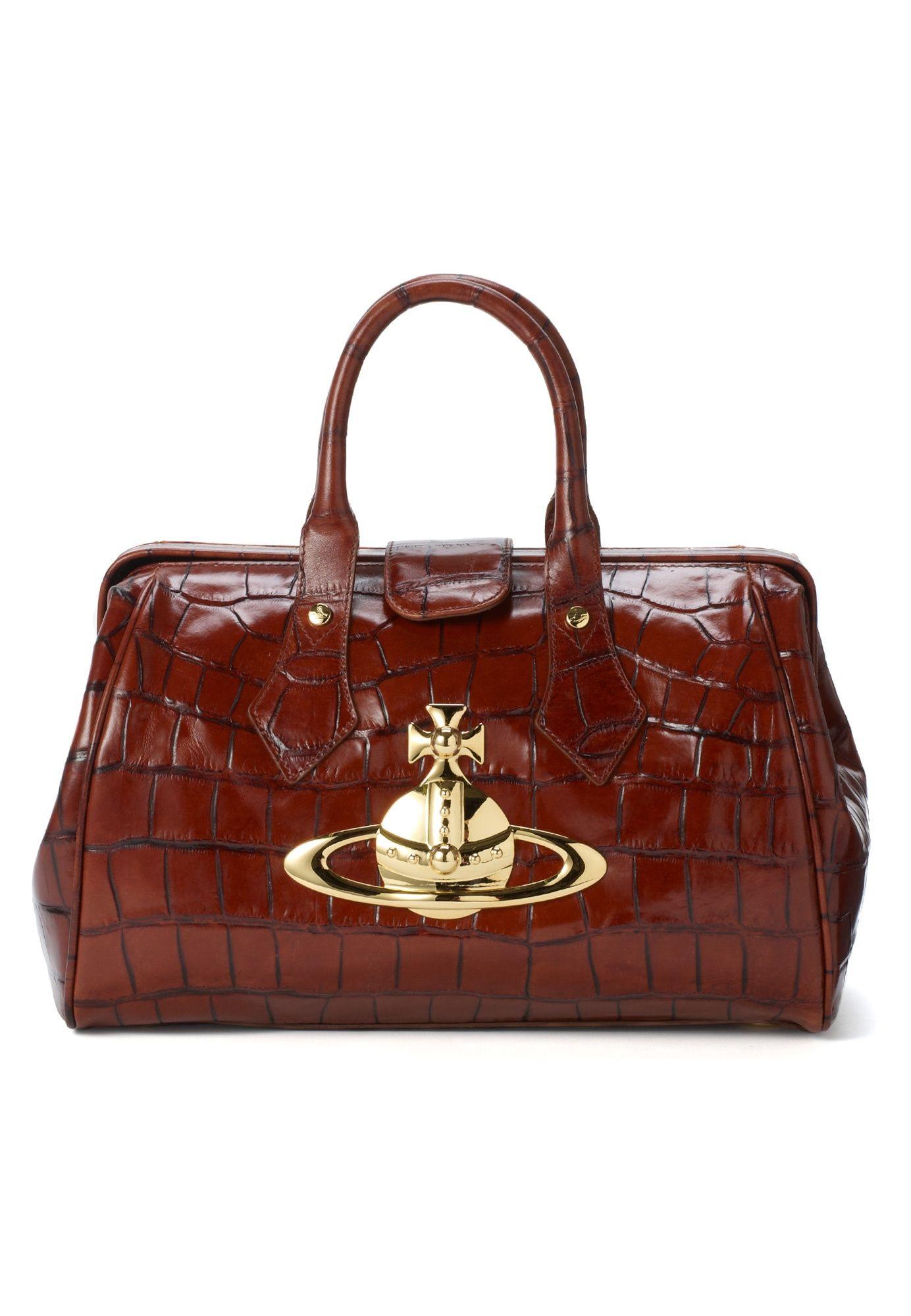 b3e9b89d80 Vivienne Westwood - Classic Orb Bag Brown   style: shoes & bags ...