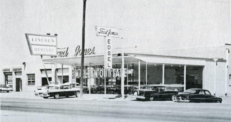 Wichita Falls Texas History 810 E Scott Fred Jones Lincoln