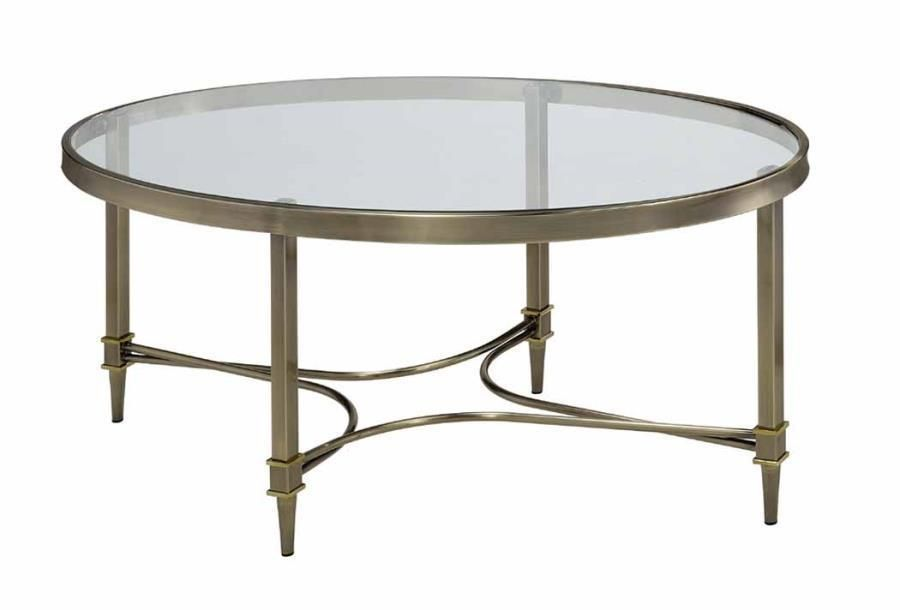 Madalynn Coffee Table With Images Bronze Coffee Table