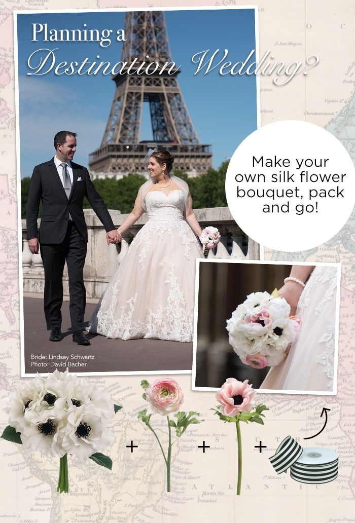 Planning a destination wedding? Make your own wedding bouquet - pack ...