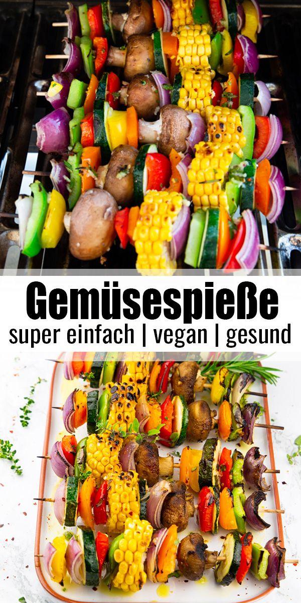 Gemüsespieße