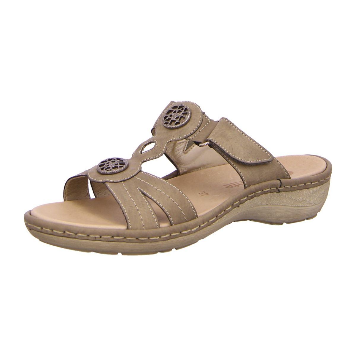 NEU: Remonte Pantoletten D7667 42 grau | Schuhe damen