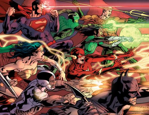 """Justice League Rebirth #1 - """"Fear the Reaper"""" (2016)"""