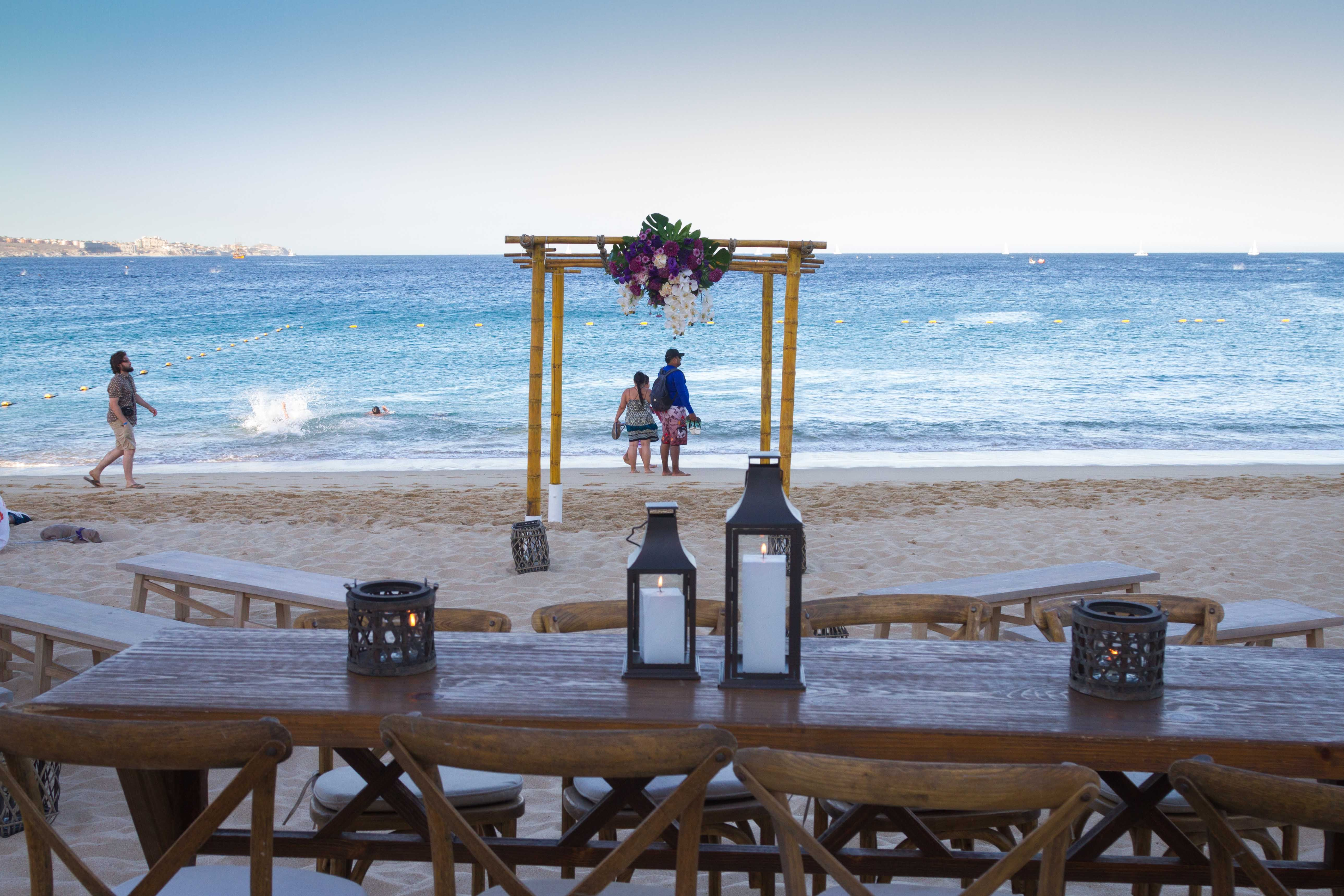 Beach Location for your ceremony Cabo san lucas, Cabo