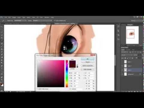 Tutorial de pintura de um olho - By: Ana Paula de Melo                                                                                                                                                     Mais