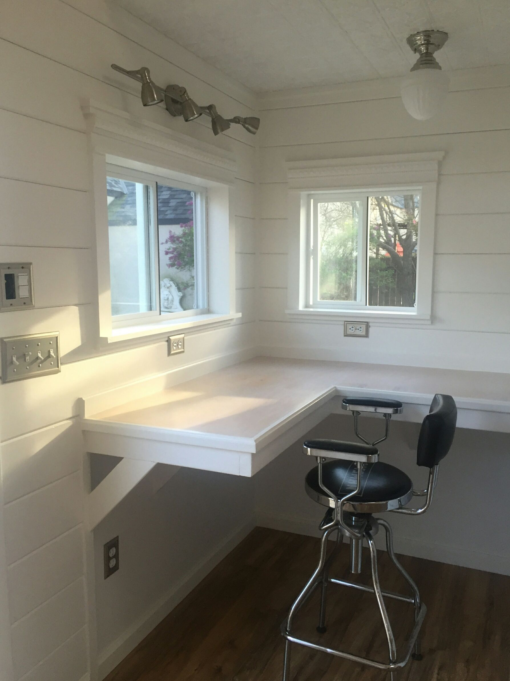 Need some home office inspiration? This Tuff Shed office houses a ...