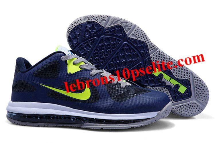Nike Zoom LeBron 9 Low Obsidian Cyber