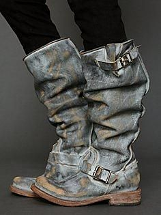Contra Washed Tall Boot