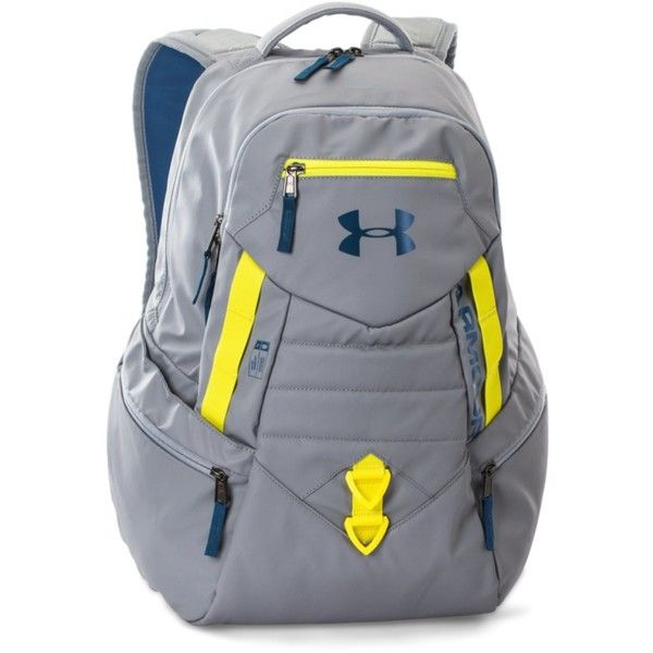 Under Armour UA Storm Quantum Backpack ( 64) ❤ liked on Polyvore featuring  men s fashion 38426b357ea60