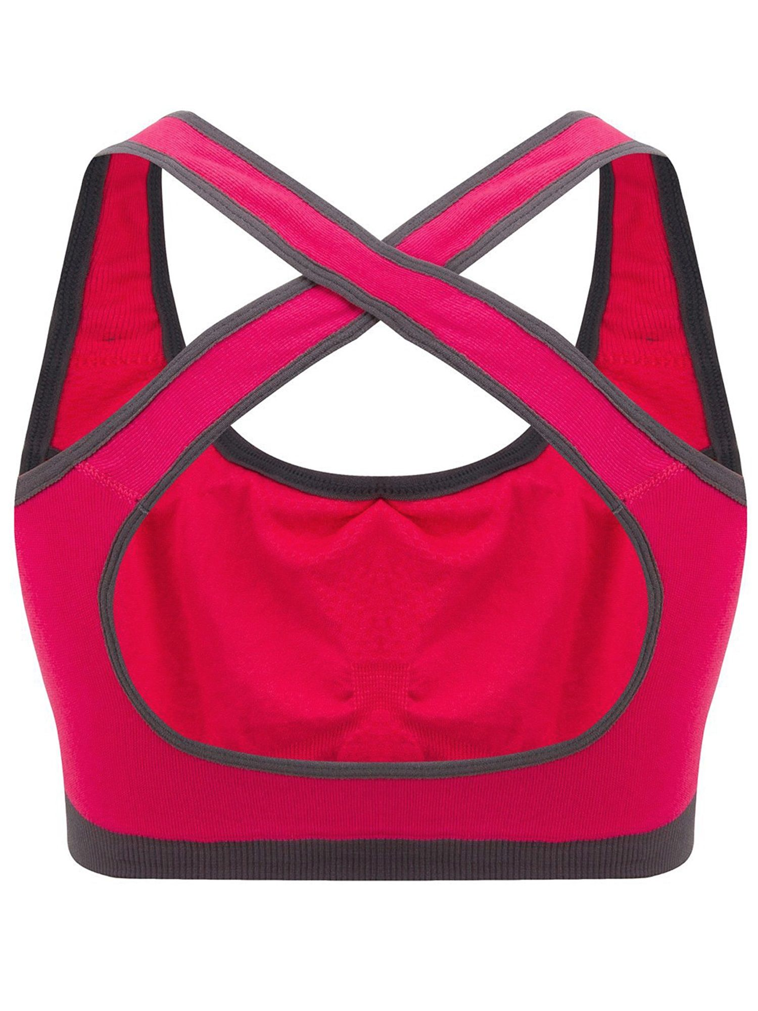 1ed91b4be7037 SAYFUT Women s Seamless Padded Cups Running Workout Yoga Fitness Athlete  Sports Bra Padded