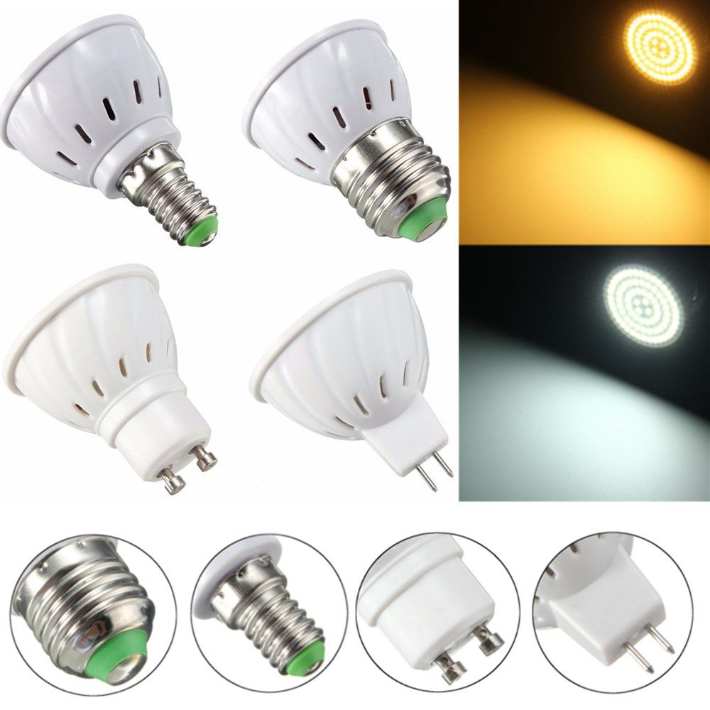 E27 E14 Gu10 Mr16 3 5w 27 Smd 5730 Non Dimmable Led Warm White White Spot Lightt Lamp Bulb Ac110 220v Dimmable Led Bulb Lamp Bulb