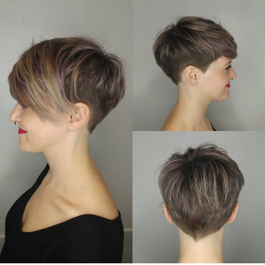 10 stylish pixie haircuts - women short undercut hairstyles