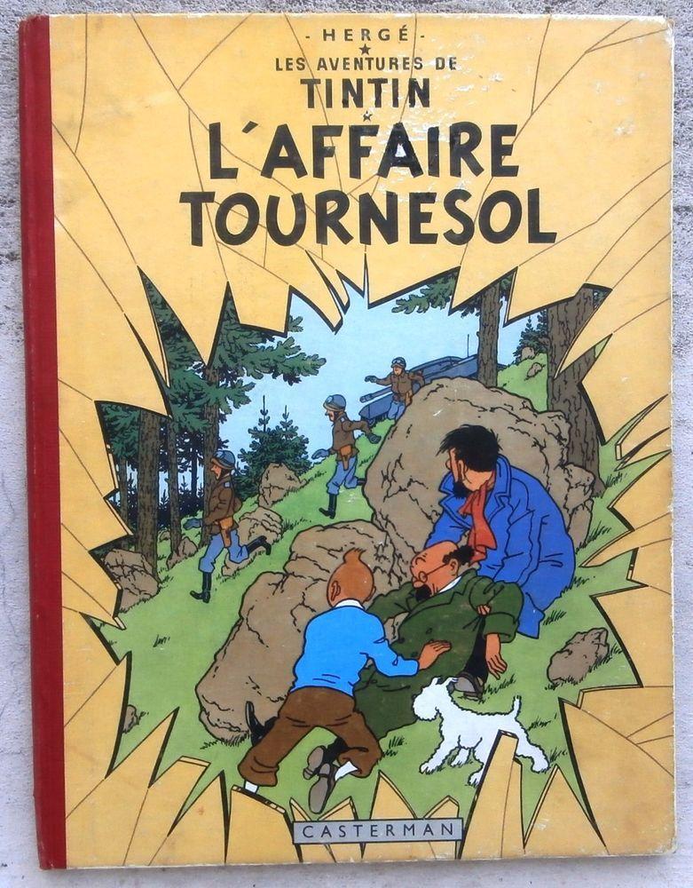 Tintin L'affaire Tournesol EO BE+ ( cahier superbe ) 1956
