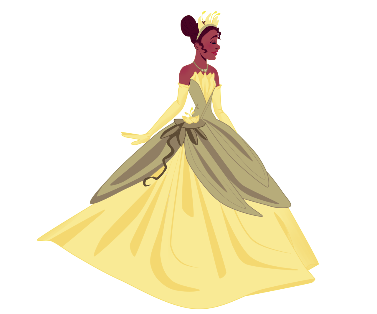 Tiana Transparent Animated Princess: Miss Tiana ♥ Oh She's Transparent Cool