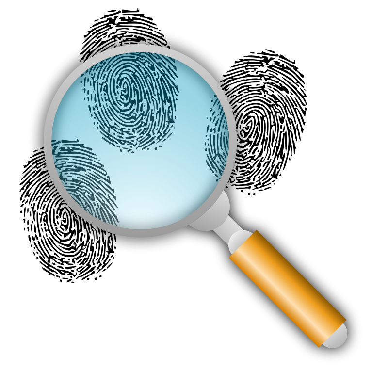 Search For Fingerprints Clipart Forensic Science Forensics Find Your Ancestors