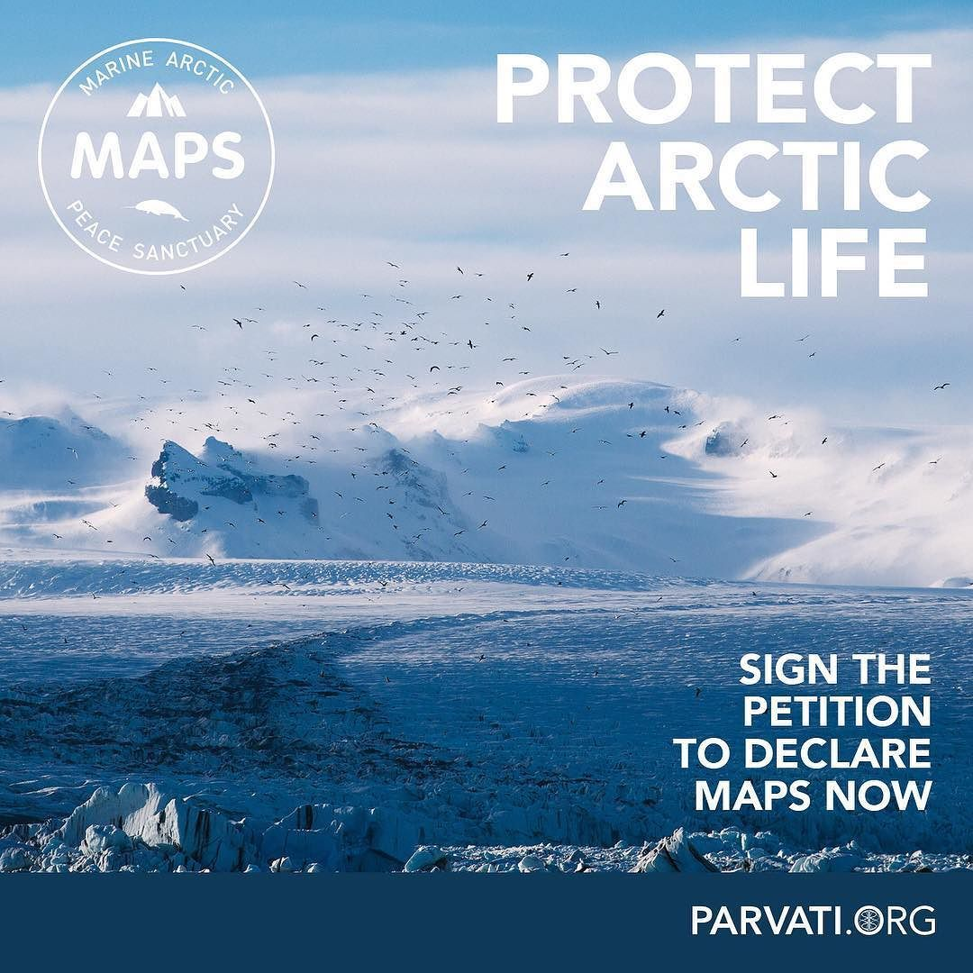 The Antarctic region has been protected for decades from exploitation. But the Arctic one of the planets most fragile ecosystems where the ice is melting fast stands to be exploited by business and political interests for the resources within its seabed. This further threatens the ice that remains and the marine life beneath it. It's time to change that.  Please add your name to the Marine Arctic Peace Sanctuary petition and call on your head of government to ratify MAPS now. Visit…