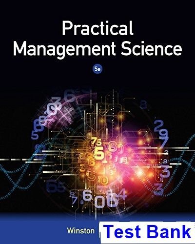 management science solutions manual