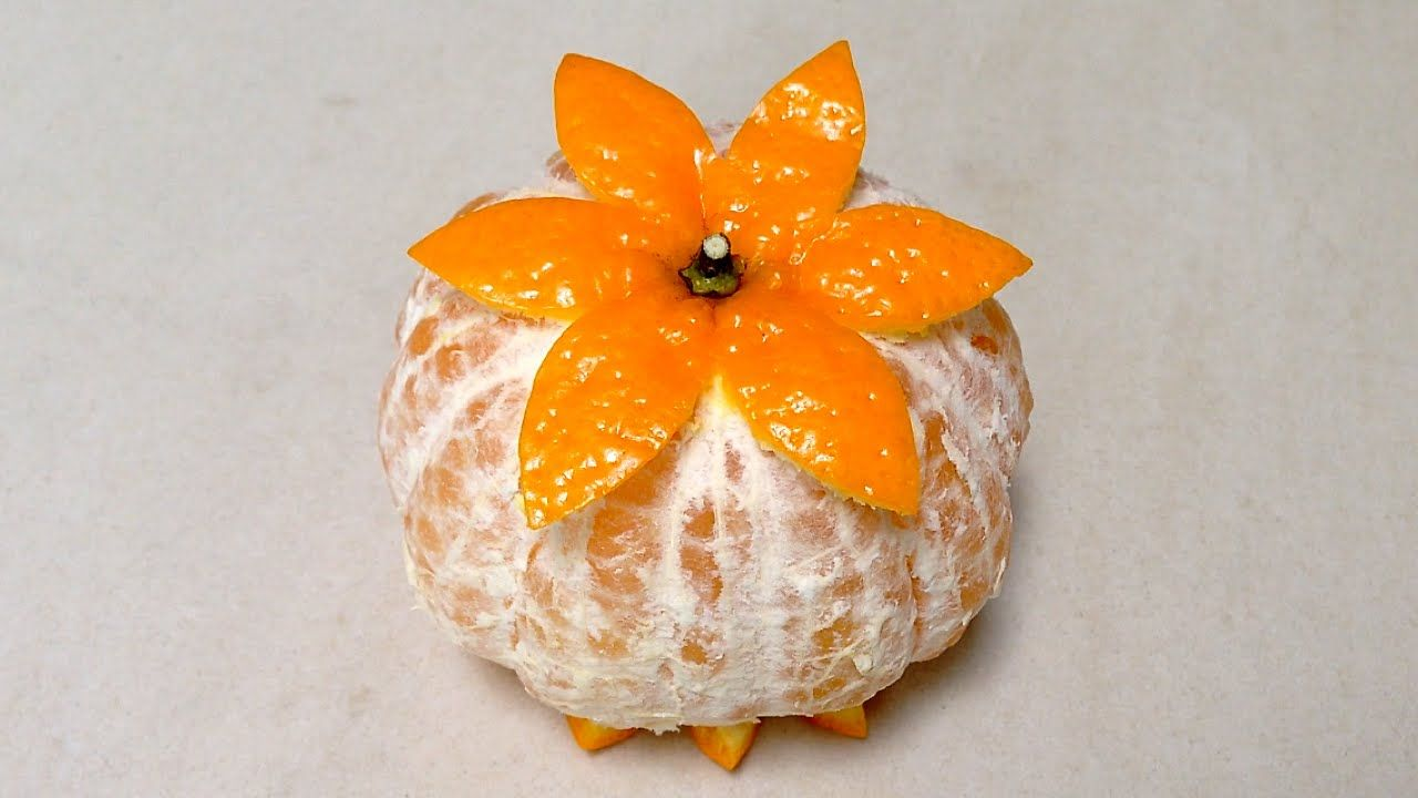 Orange Mandarin Simple Decorating - Beginners Lesson 79 By ...