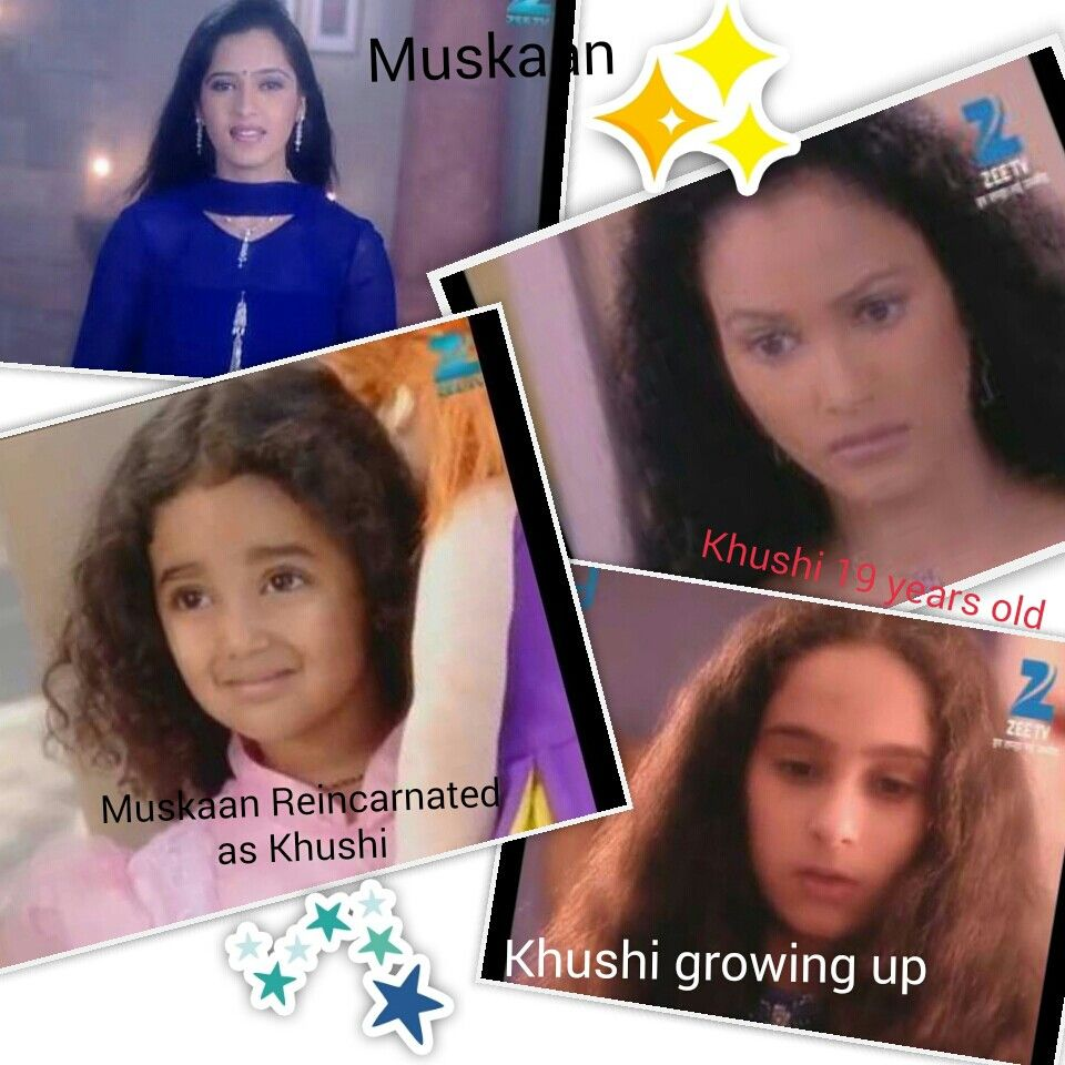 All faces of Muskaan from Zee T V  show T B J K (Tum Bin