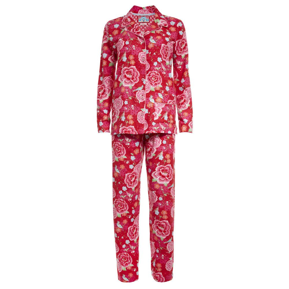 Discover The Pip Studio Pien Red Flannel Pyjama At Amara