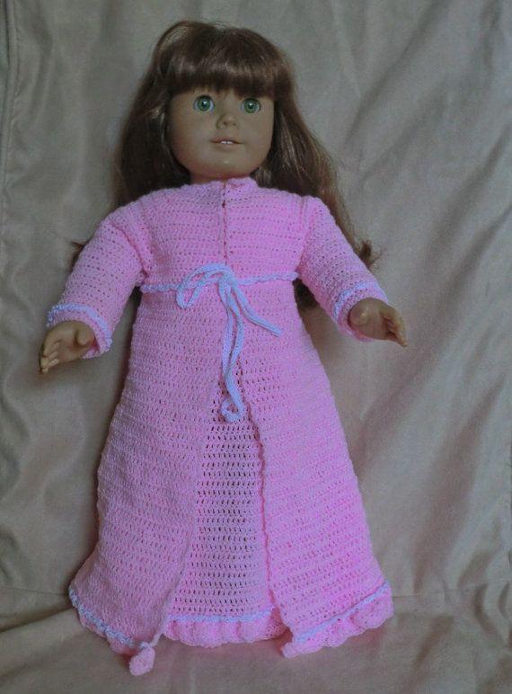 Crochet Pattern 172 Nighty Set For 18 Inch Dolls American Girl