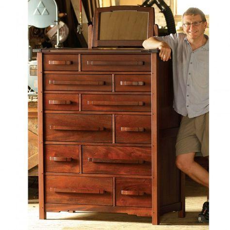 Merveilleux Greene U0026 Greene Inspired Dresser Downloadable Plan   Dresser, Woodworking  And Gamble House