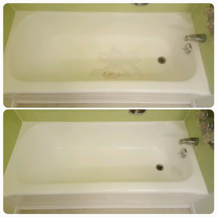 Bathtub reglazing companies that do their job in 2 to 3 hours leave ...