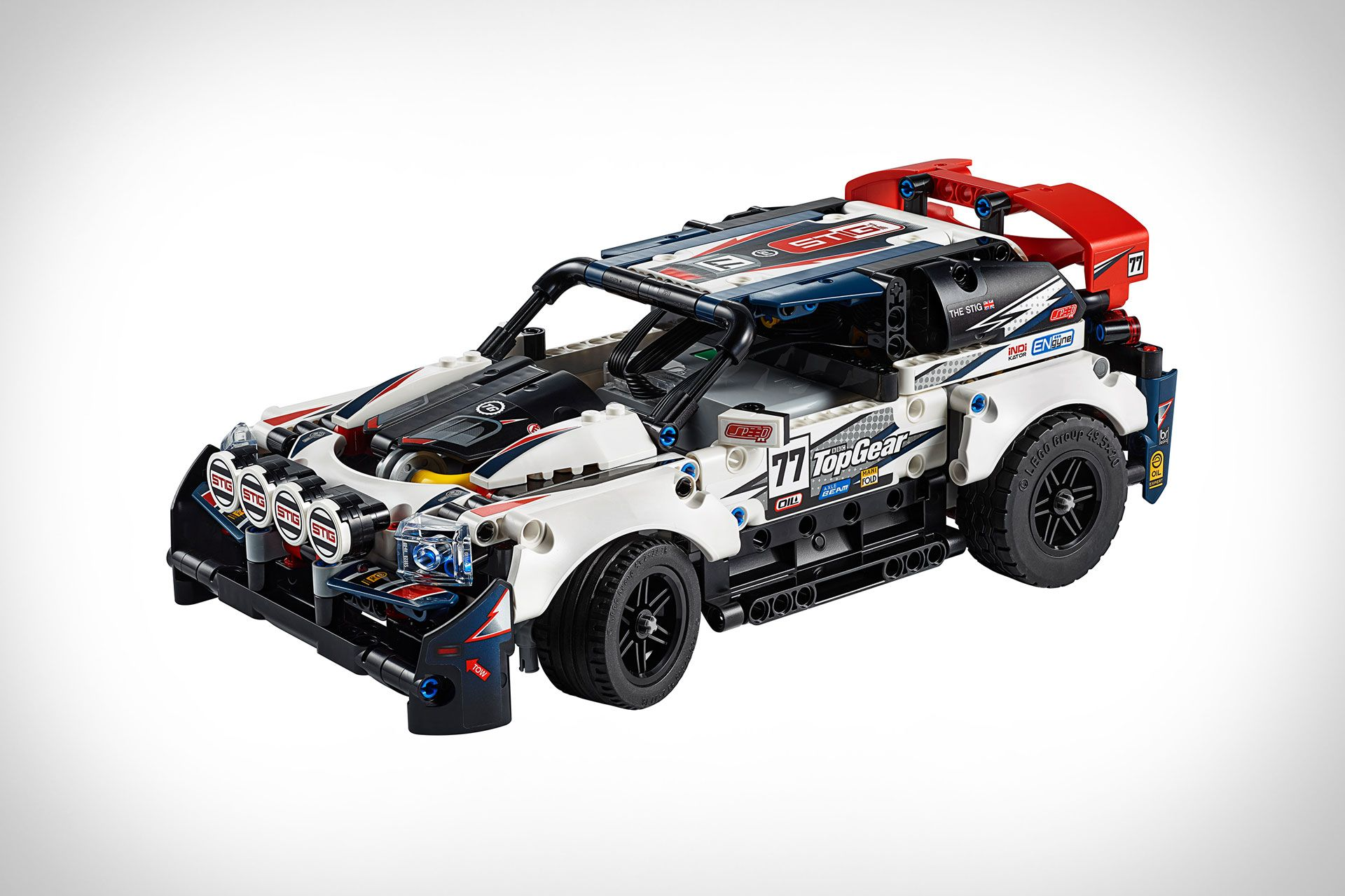 Lego Technic Top Gear Rally Car Rally auto, Top gear