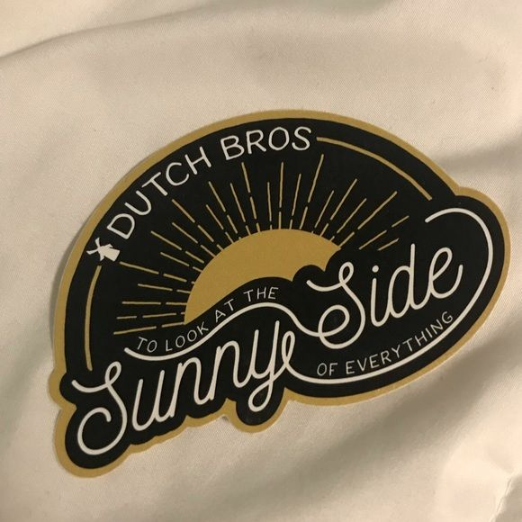 dutch bros Accessories - Dutch Bros Sunny Side Sticker #dutchbros