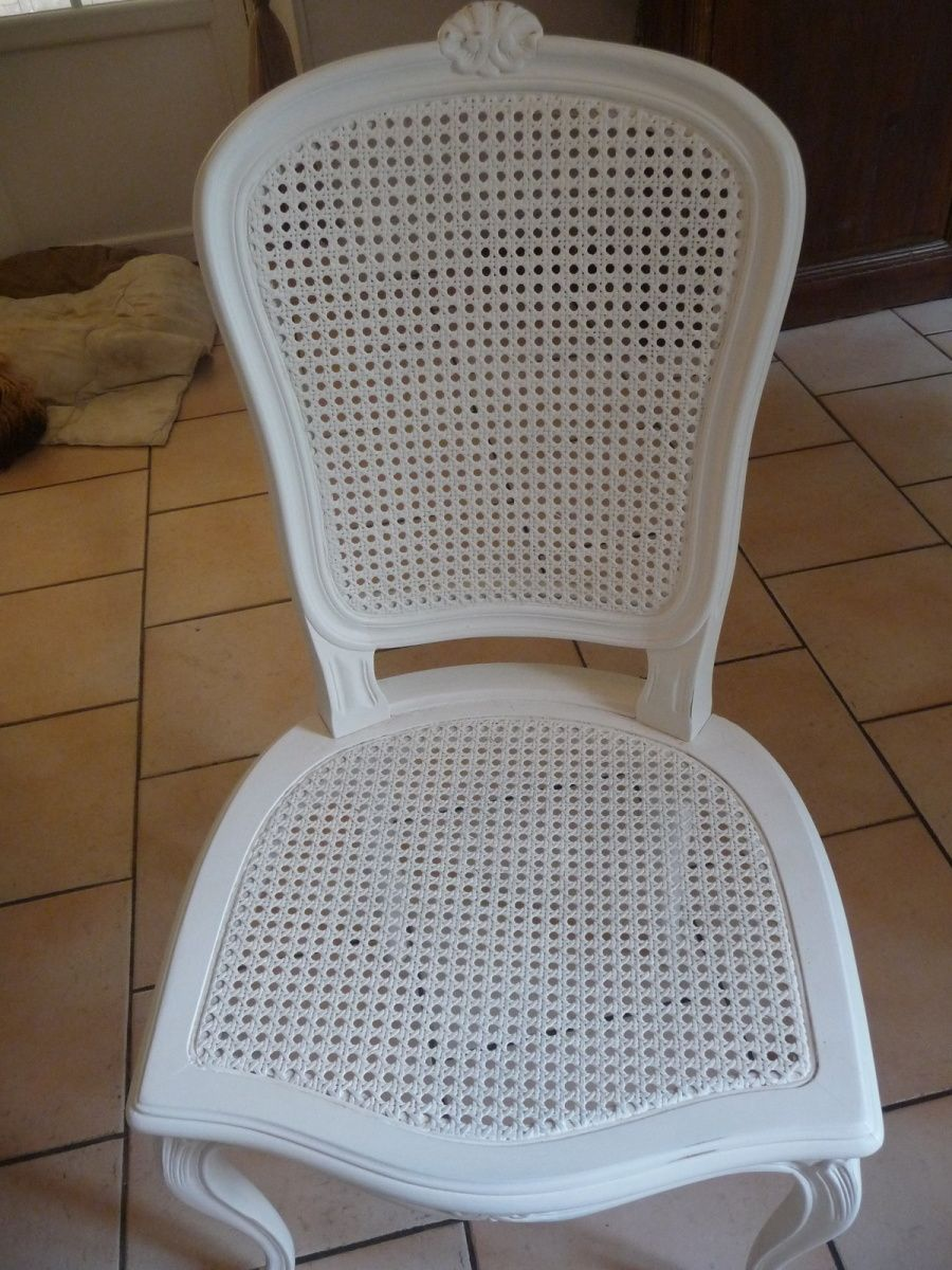 Tutoriel Refaire Le Cannage D Une Chaise Madame Fit Faire Cannage Chaise Cannage Canape Refaire