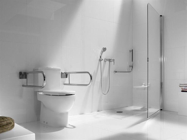 Wc Para Discapacitados De Ceramica Con Cisterna Coleccion New