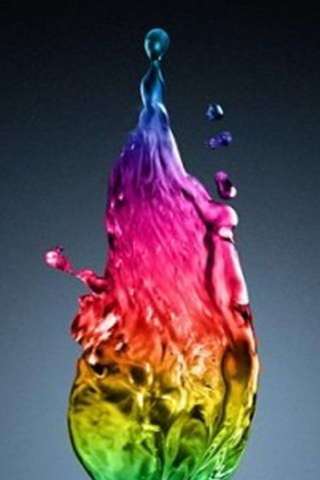 I Think This Is Super Cool With Images Rainbow Water Abstract