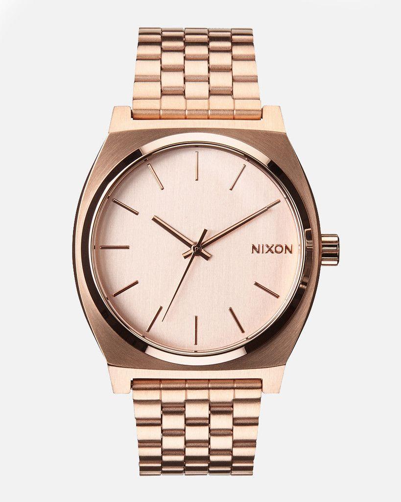 Nixon Watch TIME TELLER - All Rose Gold #accesorios #reloj #nixon #watch #timeteller
