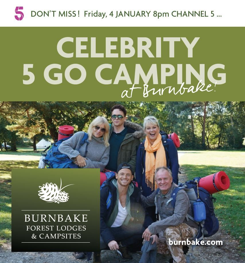 Celebrity 5 Go Camping Channel 5 Go Camping Celebrities Camping