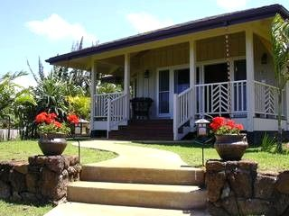 the honeymoon cottage for 2 guests kalani honua heaven on rh pinterest com