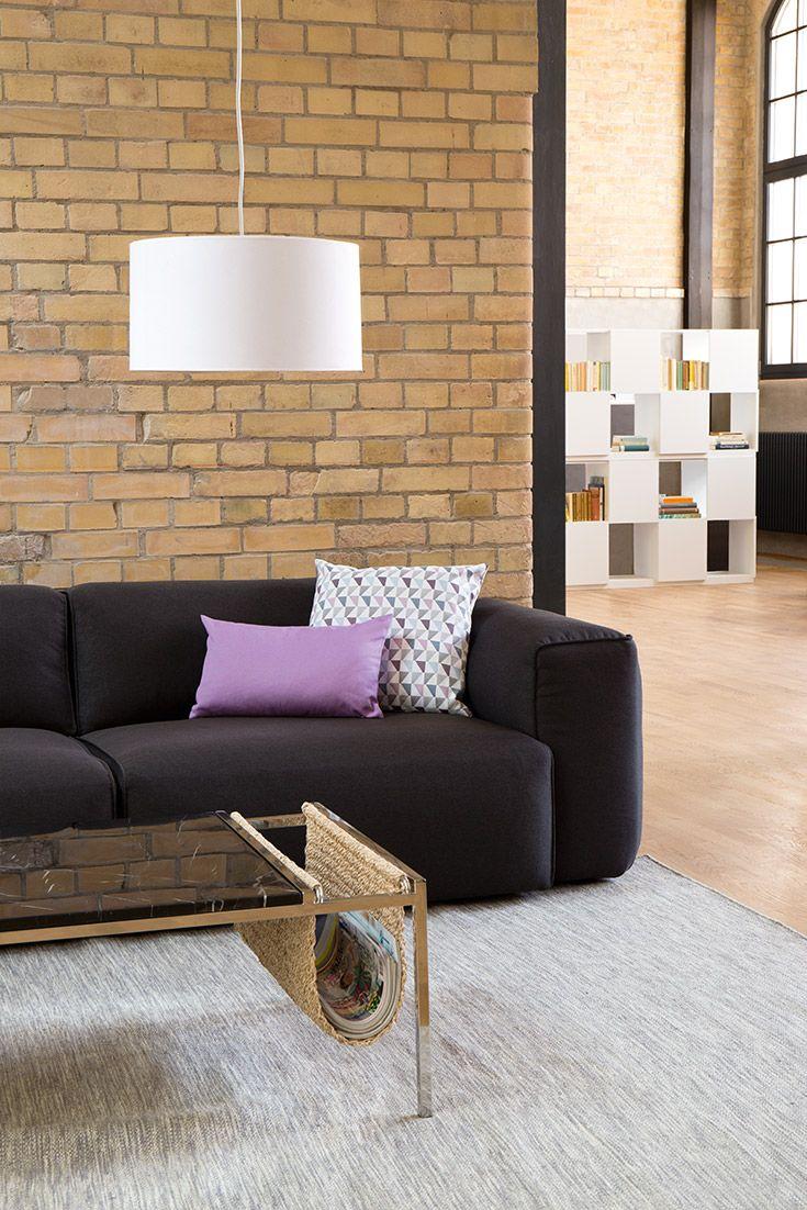 Brilliant Hellblaues Sofa Referenz Von 3-sitzer-sofa Hudson Ii Anthrazit