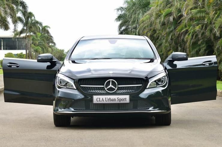 Mercedes Benz Cla Urban Sport Luxury Sedan Launched In India