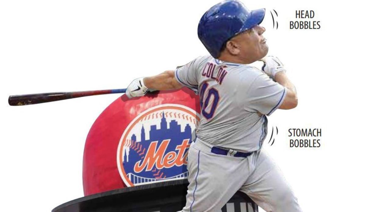 Limited Edition Bartolo Colon bobblehead with bobble belly http://ift.tt/1NExC2w Love #sport follow #sports on @cutephonecases