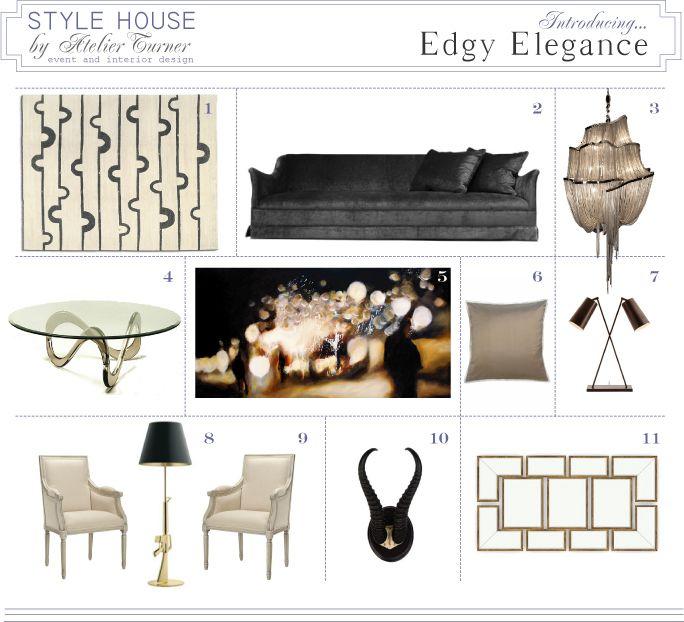 Edgy Elegance Chicago Interior Design Interior Hotels Design