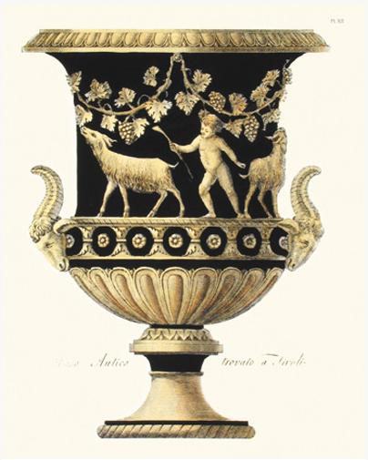 Black Urn 6 1 V A S E Pinterest Urn Art Object And Prints